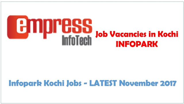 Infopark Latest Job Openings in Kochi