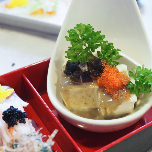century egg tofu