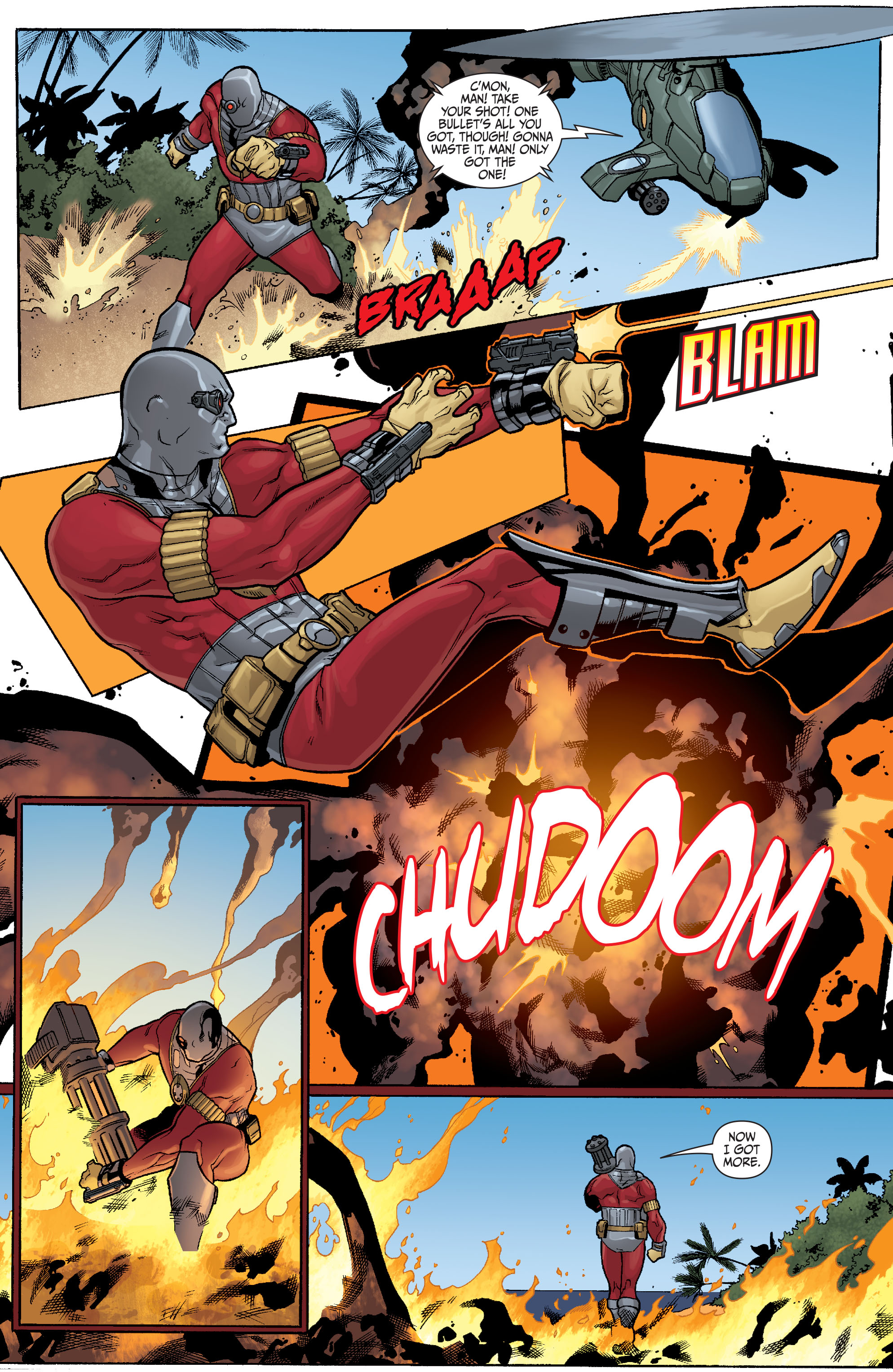 Read online Secret Six (2008) comic -  Issue #23 - 16