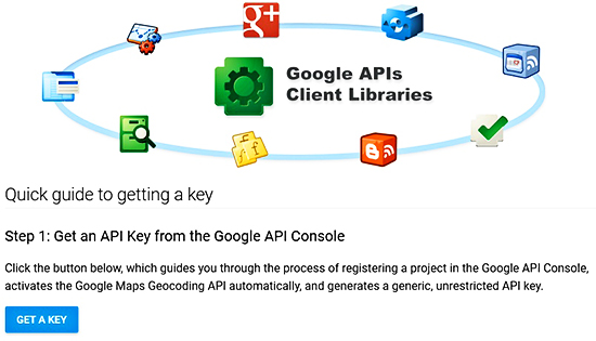 How To Get A Free Google API Key