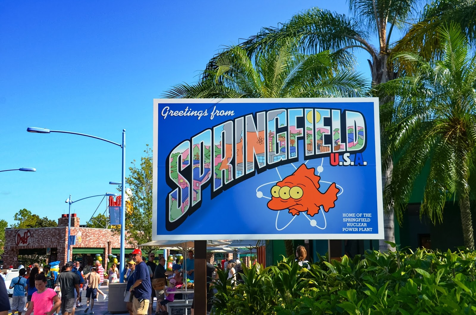 Greetings from springfield a make believe world half way across the united states we found springfield yes the home to the simpsons family and all of their wonderful cartoon glory im not going to lie kristyandbryce Choice Image