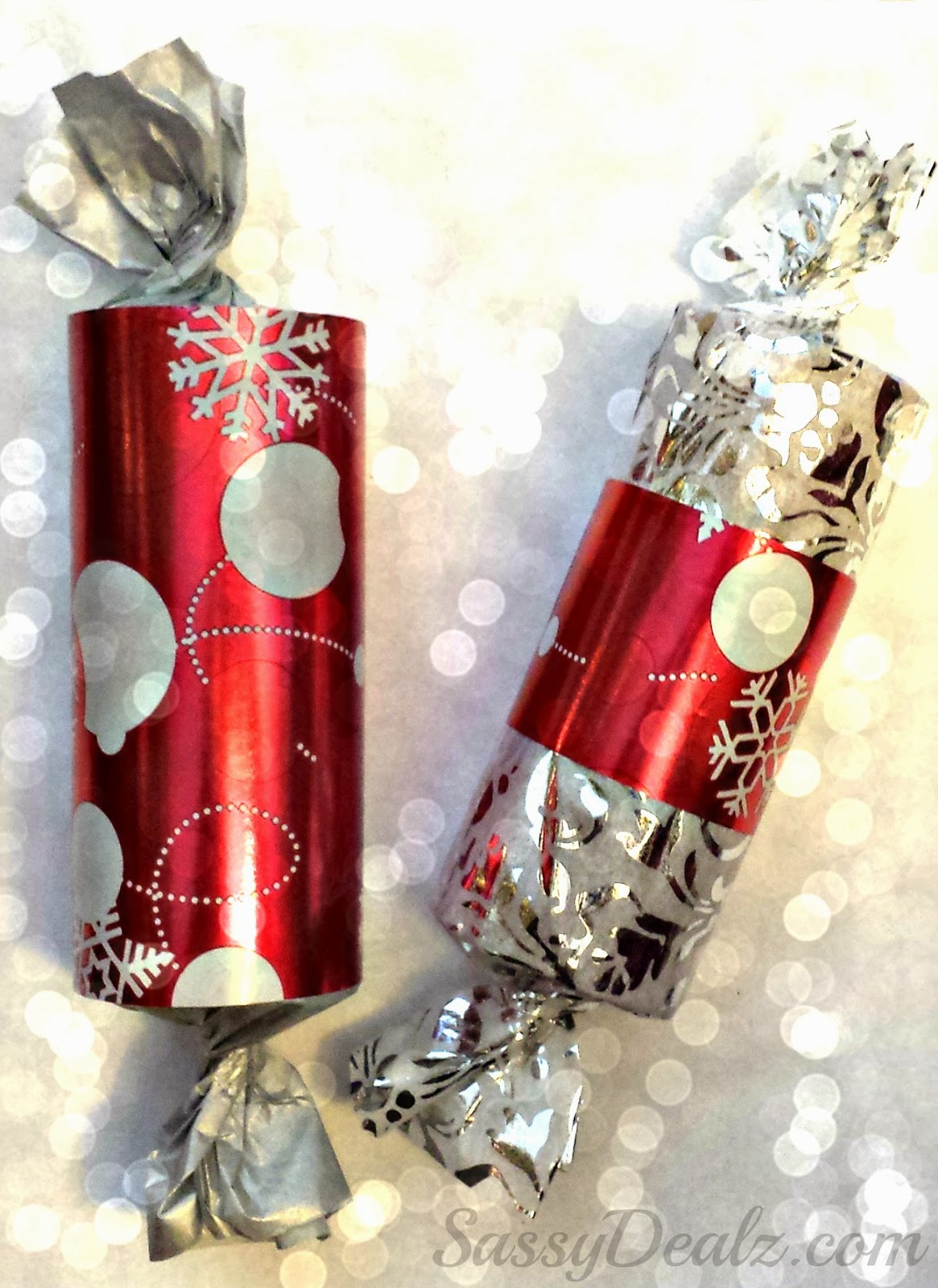 Toilet Paper Roll Christmas Gift Packages For Kids