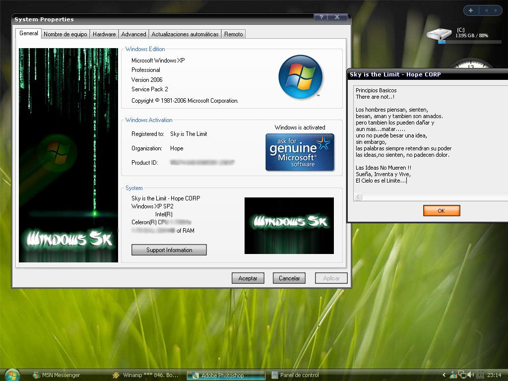 Genuine microsoft software