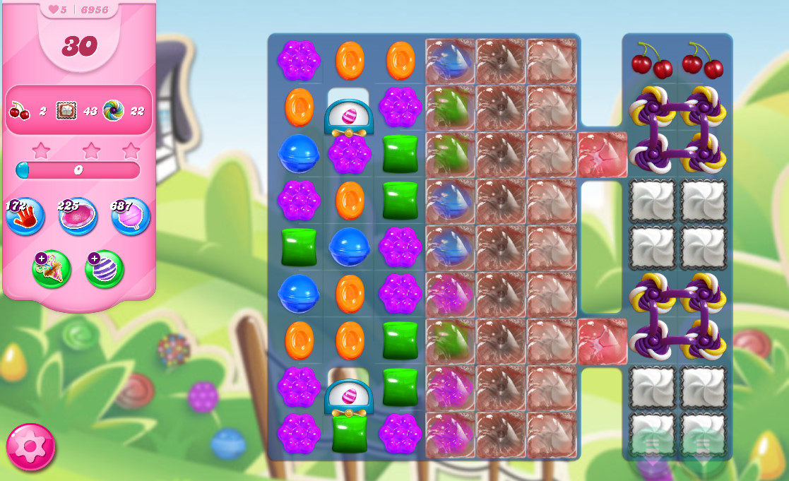 Candy Crush Saga level 6956