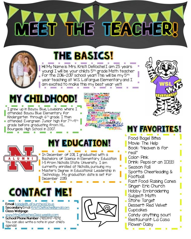 My Story - Kristi DeRoche TPT