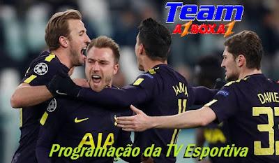 Programação da TV Esportiva ''Sábado'' 11/08/18