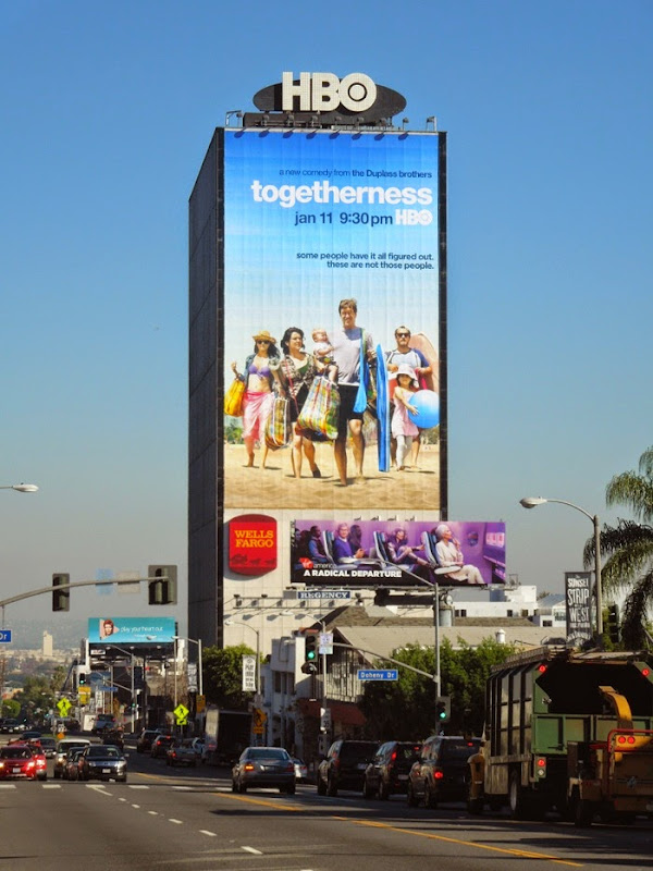 giant Togetherness season 1 billboard