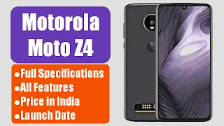 Moto Z4 Specifications