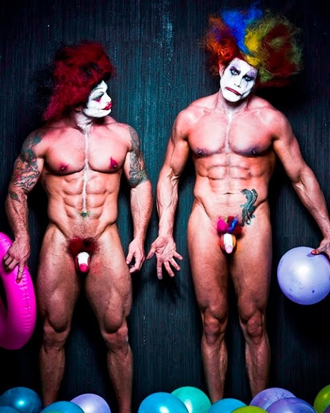Sexy emo clown naked sexy