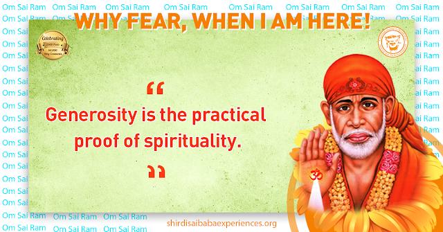 Shirdi Sai Baba Blessings - Experiences Part 2534