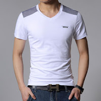 gaya pakaian pria - kaos pria