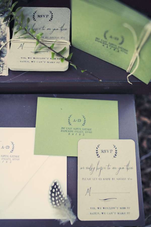 bride+groom+bridal+dress+gown+floral+hair+wreath+rustic+woodland+ecofriendly+eco+friendly+green+emerald+color+of+the+year+pantone+cake+dessert+table+reception+centerpiece+blue+hipster+fall+autumn+gideon+photography+28 - Woodland Fairytale