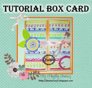 paso a paso tutorial pap como hacer una box card