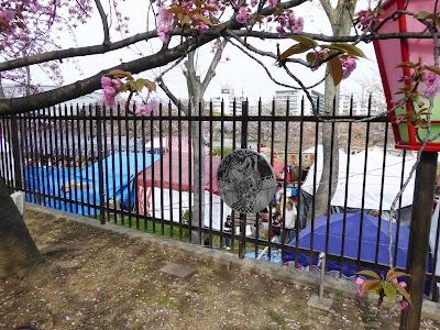 桜之宮公園の屋台