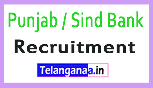 Punjab / Sind Bank PSB Recruitment