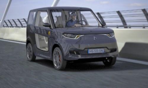 Diseñan un vehículo eléctrico totalmente reciclable