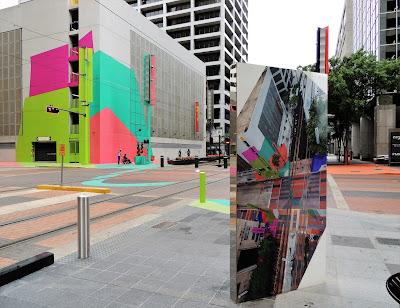 Art Block (2016) in Downtown Houston