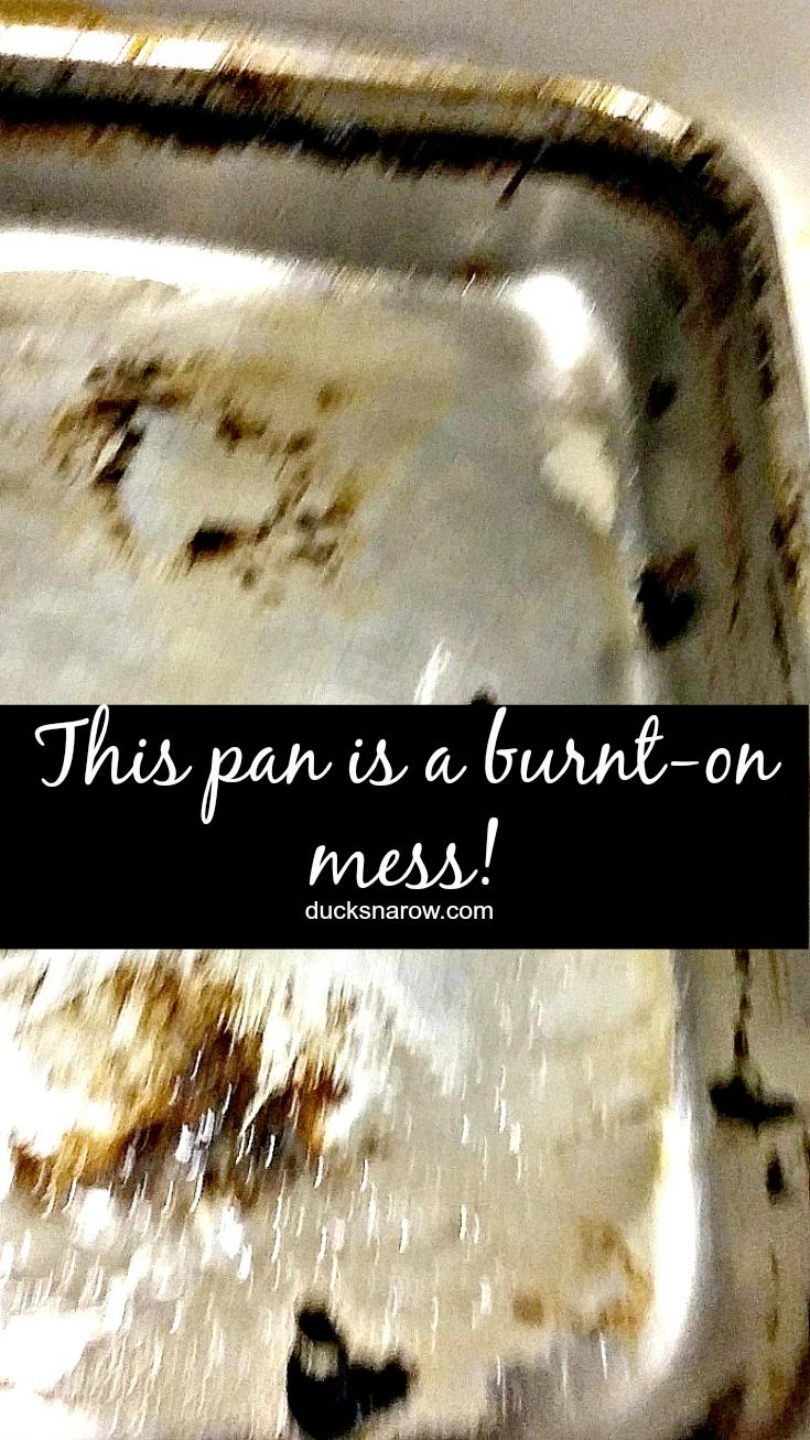 How To Clean A Baking Pan Ducks N A Row