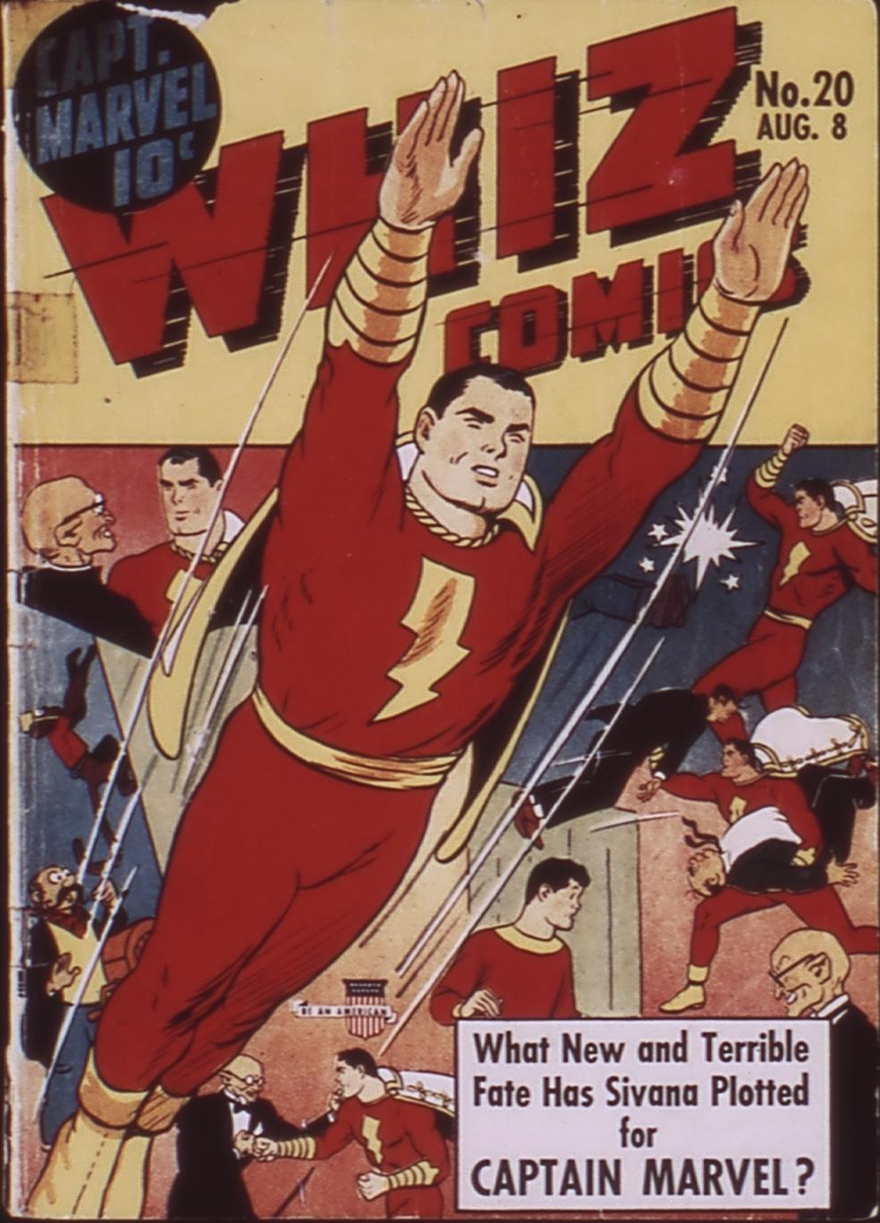 WHIZ Comics 20 Page 1