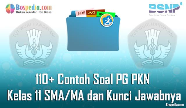 110+ Contoh Soal PG PKN Kelas 11 SMA/MA dan Kunci Jawabnya Terbaru