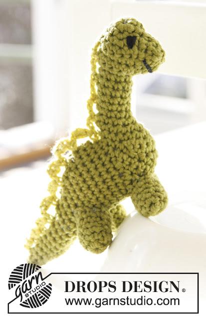 Dinosaure au crochet