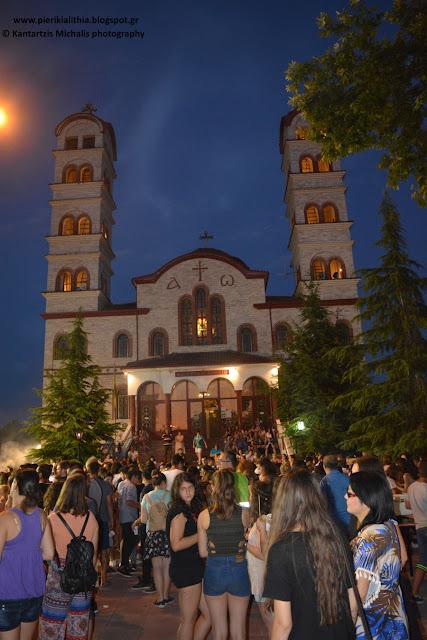 """Πλήθος κόσμου αυτή την ώρα στον Ι.Ν. Αγίας Άννης για την γιορτή νεολαίας. (Αύριο το πρωί στην """"ΑΛΗΘΕΙΑ"""" αποκλειστικό ρεπορτάζ από την εκδήλωση)"""