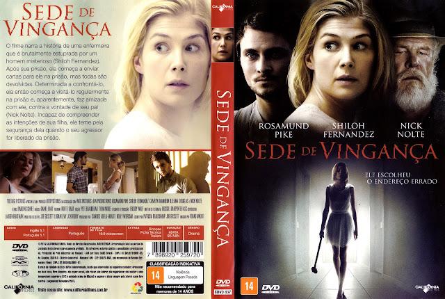 Capa DVD Sede de Vingança