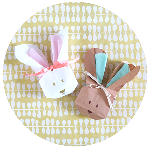 Bunny Bags by Love. Luck. Kisses & Cake  |  LLK-C.com