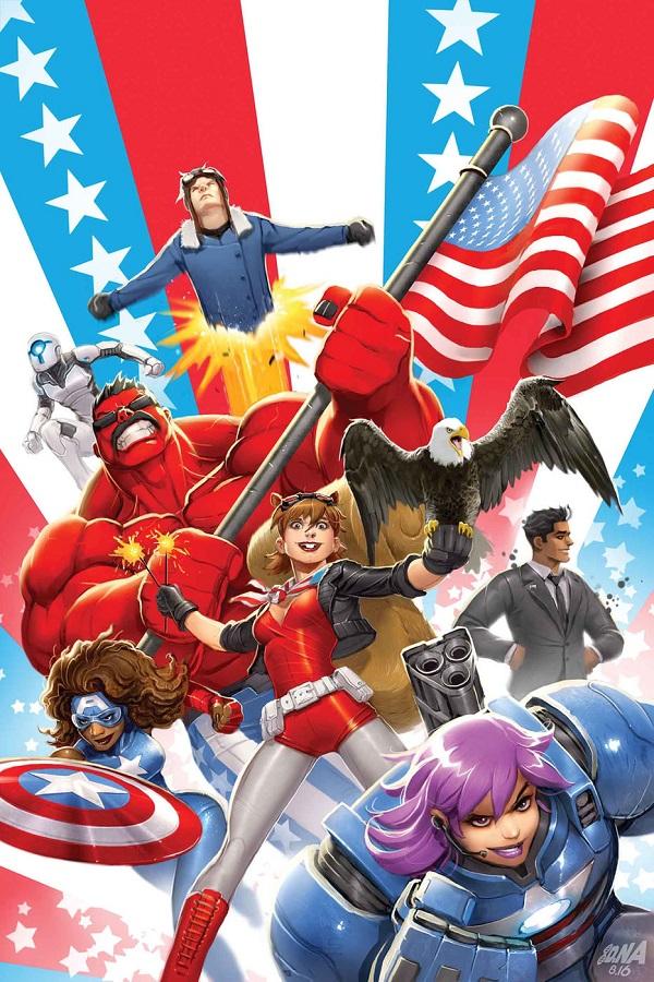 U.S.Avengers обкладинка Накаяма