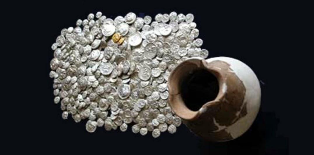 Monedas de plata romanas y derechos hereditarios en Roma