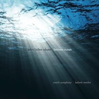 """Portada del CD """"Become ocean"""" de John Luther Adams, por la Seattle Symphony, bajo la dirección de Ludovic Morlot"""