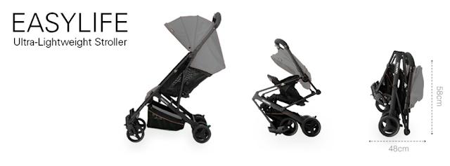 six little hearts recaro easylife ultra lightweight stroller review