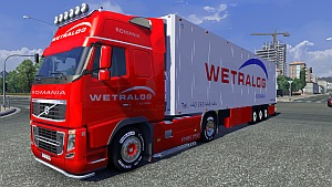 Wetralog trailer and skin for Volvo 2009