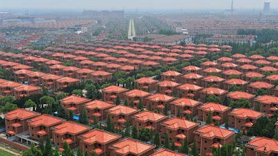 Villas en Huaxi, Jiangsu, China, el 31 de mayo de 2010.Sean YongReuters