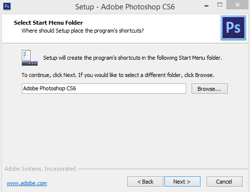 install photoshop cs6 crack