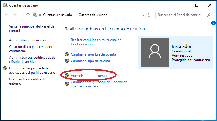 En cualquier versión de Windows 7 y posteriores, dicho panel se abre pulsando la tecla Windows.