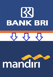cara transfer dari bank bri ke mandiri