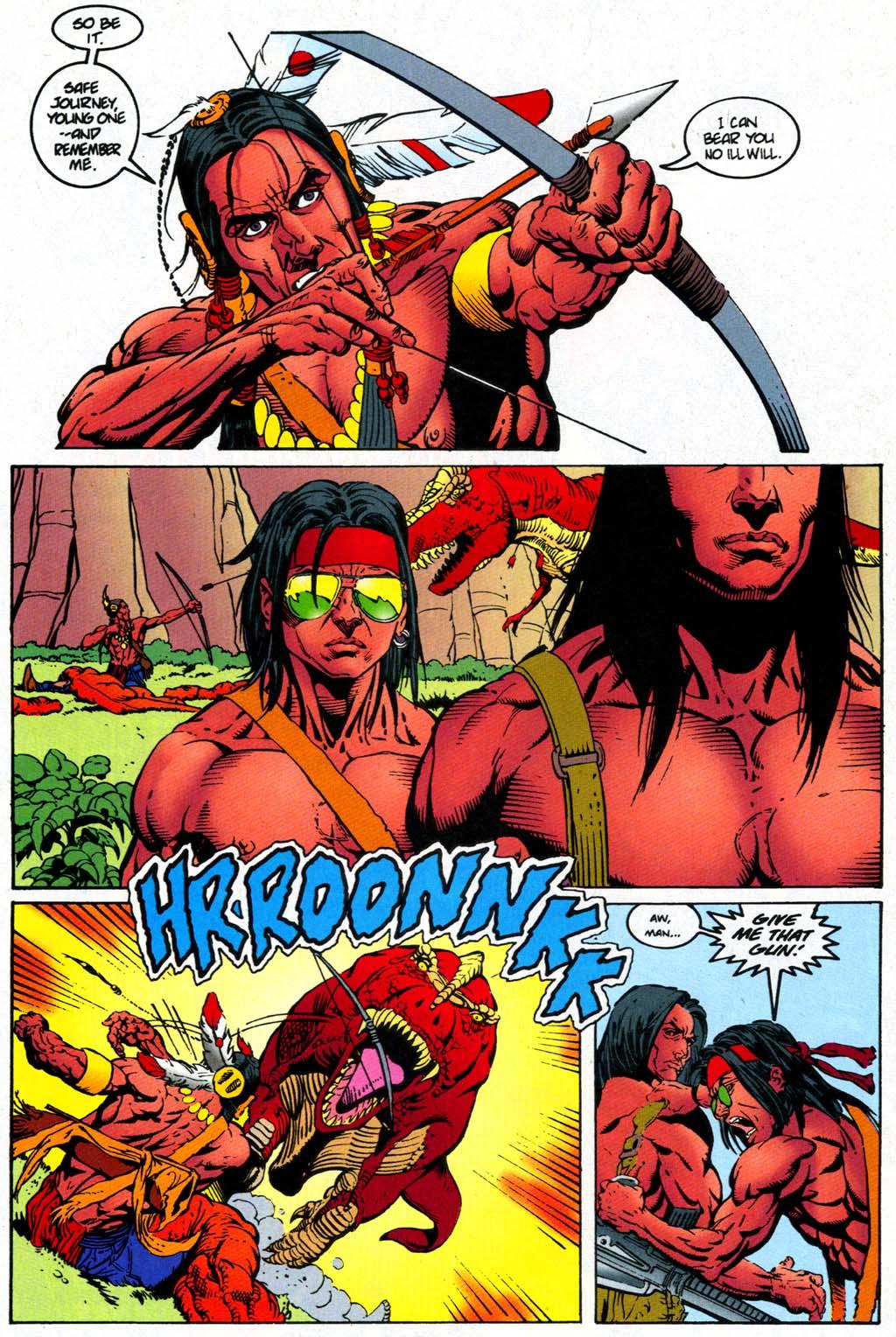 Read online Turok, Dinosaur Hunter (1993) comic -  Issue #47 - 19