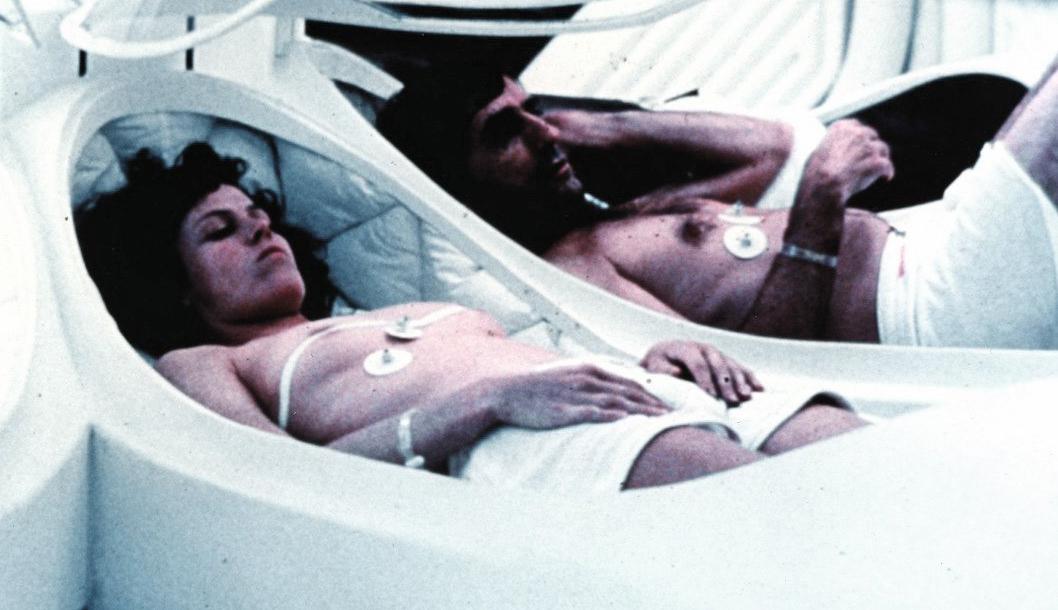 Antifotogramas Sigourney Weaver Enseñó Las Tetas En Alien