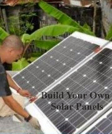 Solar Power : Build Your Own Solar Panel - Learn How Easy ...