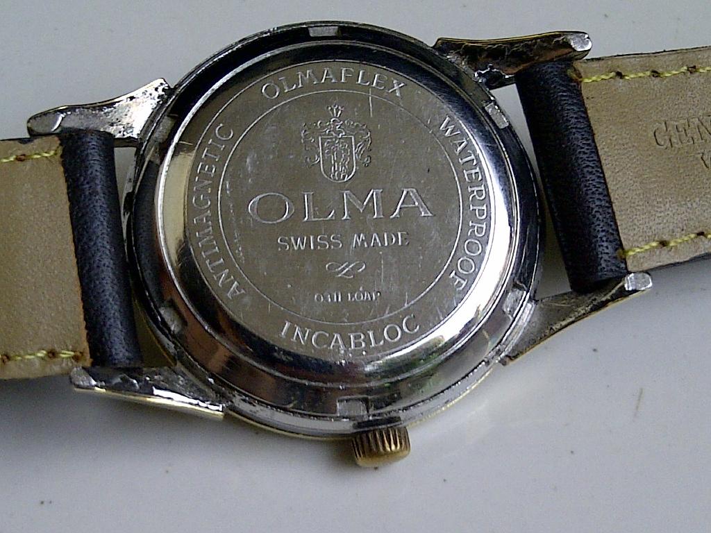 Batavia Jam: OLMA NIFALEX AUTOMATIC GOLDTOP