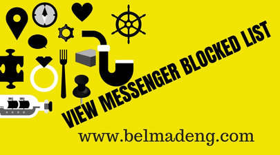 View Messenger Blocked List