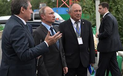President Putin visitedNizhne-Bureiskaya Hydroelectric Power Plant.