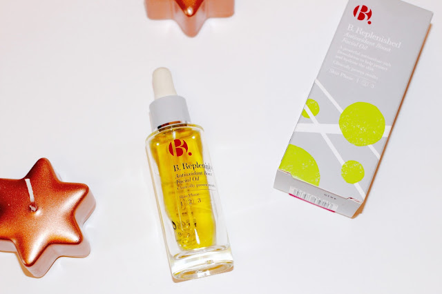 B. REPLENISHED FACIAL OIL REVIEW