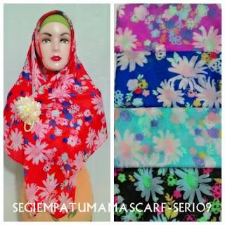 jilbab segi empat umama scarf seri 09