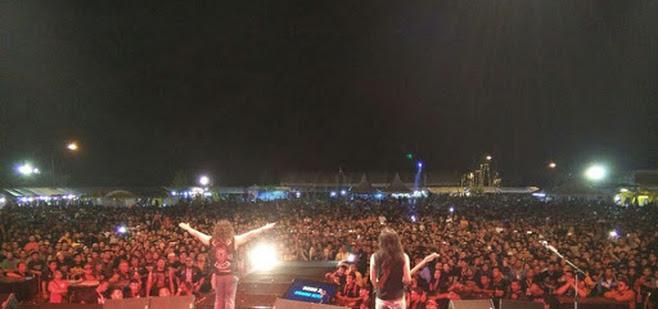 10,000 peminat serbu, Sg Golok Bike Week bagaikan konsert Wings