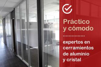 Instalación de cortinas de cristal a medida