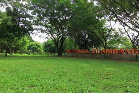 Wisata Taman Balekambang di Solo Jawa Tengah