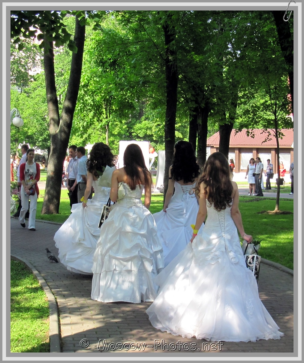 Walking Runaway Moscow Brides