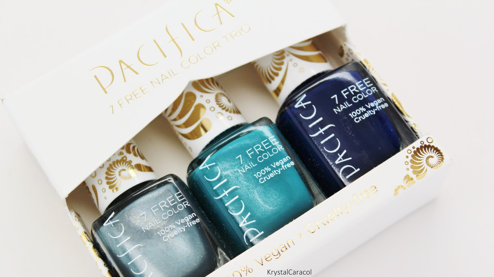 Pacifica Polish Trio Spring 2016 | Review & Swatches | Krystal ...